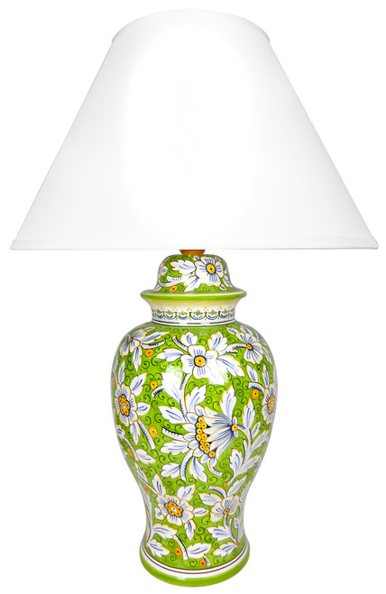 Floreale Verde (Lampshade not included)