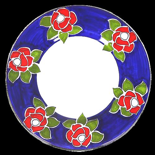 Roses Dinner Plate