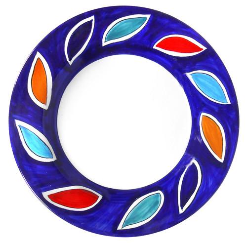 Arlecchino Blu Dinner Plate