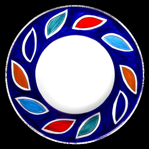 Arlecchino Blu Pasta Soup Plate