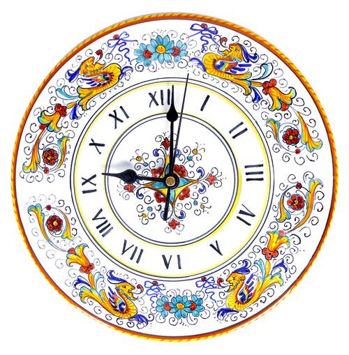Deruta clock raffaellesco