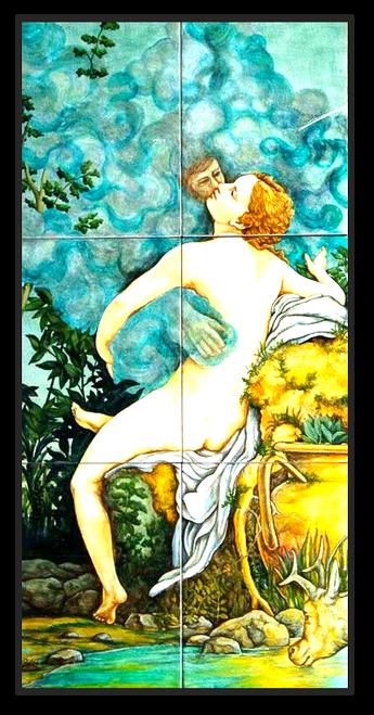 Zeus & Danae Panel