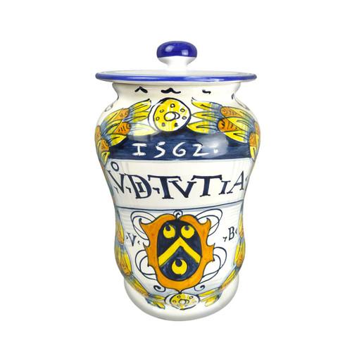 Italian pottery Pharmacy Jars