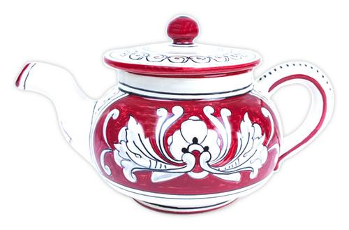 Teapot 6.3 Inches '600 Fondo Rosso