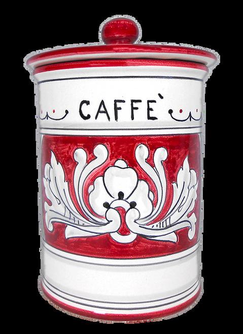 Coffee Jar '600 Fondo Rosso