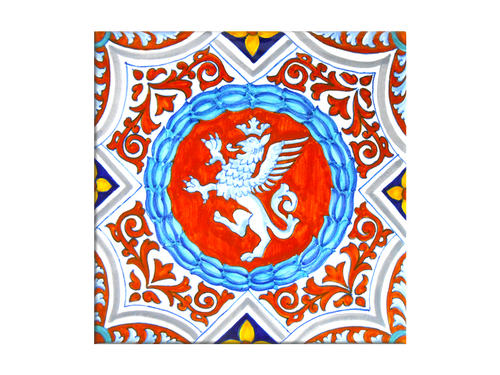 Gryphon Tile 7,8 x 7,8 Inches