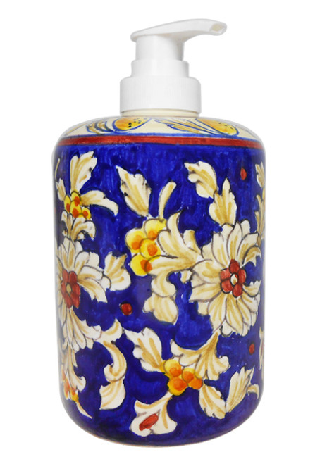 Soap dispensere Deruta Pottery