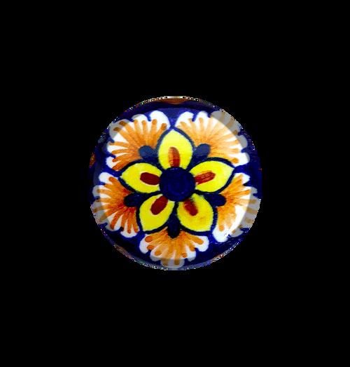 Deruta ceramics knob handpainted