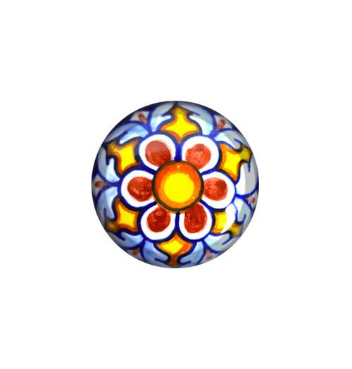 44) italian ceramic knob