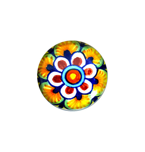 Deruta pottery knob