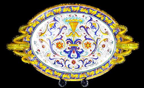 Cornucopia Oval Centerpiece