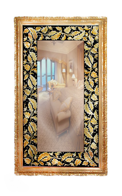 Luxury Mirror GoldBlack
