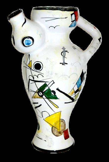 Curvy Pitcher taly pottery