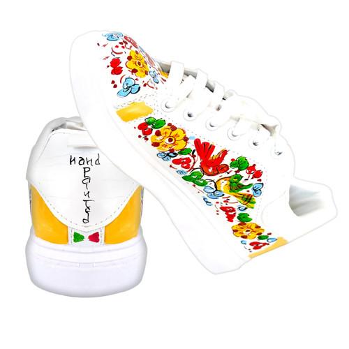 Arabesco schoes deruta hand painted  by mod design
