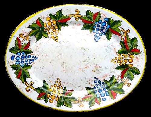 Italian ceramic tray