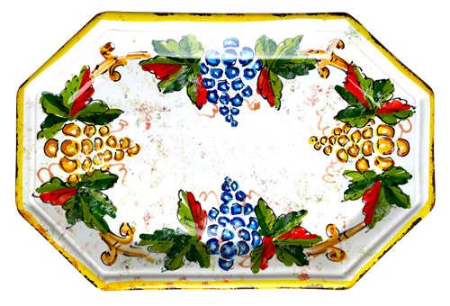 Italian ceramics tray