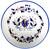 """Coloured Italian ceramic bowls  """"Galletto"""" 10 Inches"""
