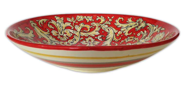 Bowl Red Passion 14.00 Inches