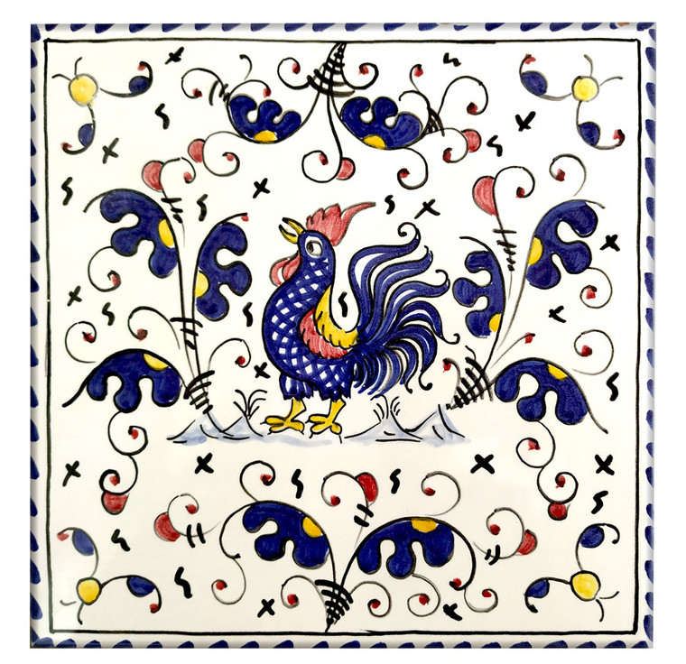 Galleto blu Tiles 7,8 x 7,8 Inches