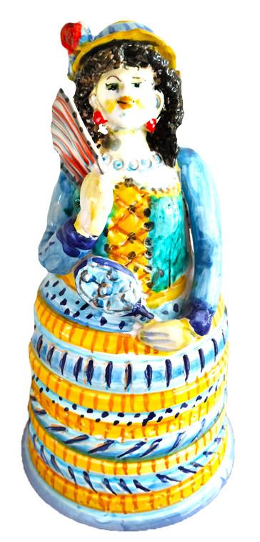 deruta  sculpture  liberty woman