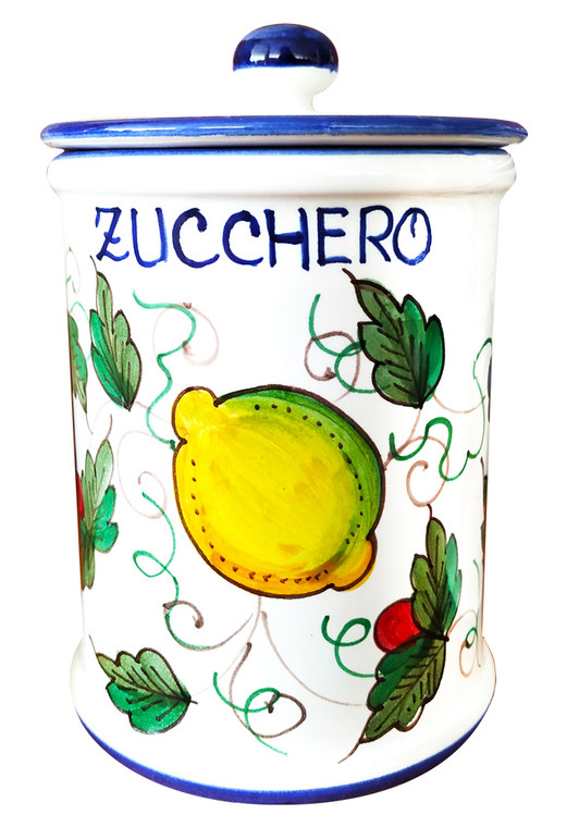 Pottery sugar Jar Deruta
