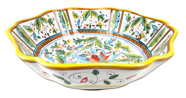 Squared Bowl Love Birds 9,8 In