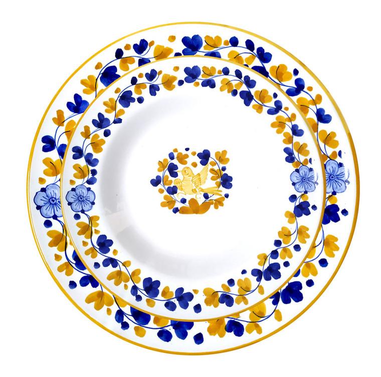 Ceramics for restaurant Arabesco Yellow by mod ceramics