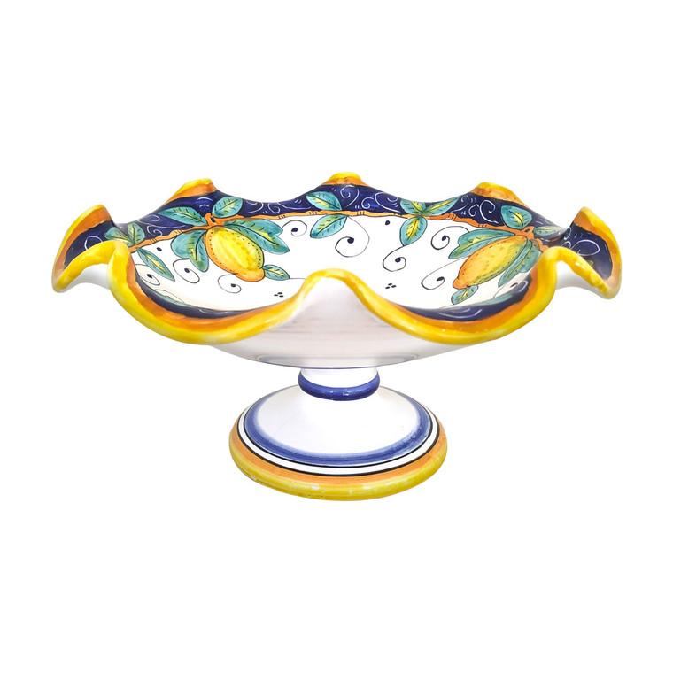 Fruit Bowl Alcantara pattern deruta