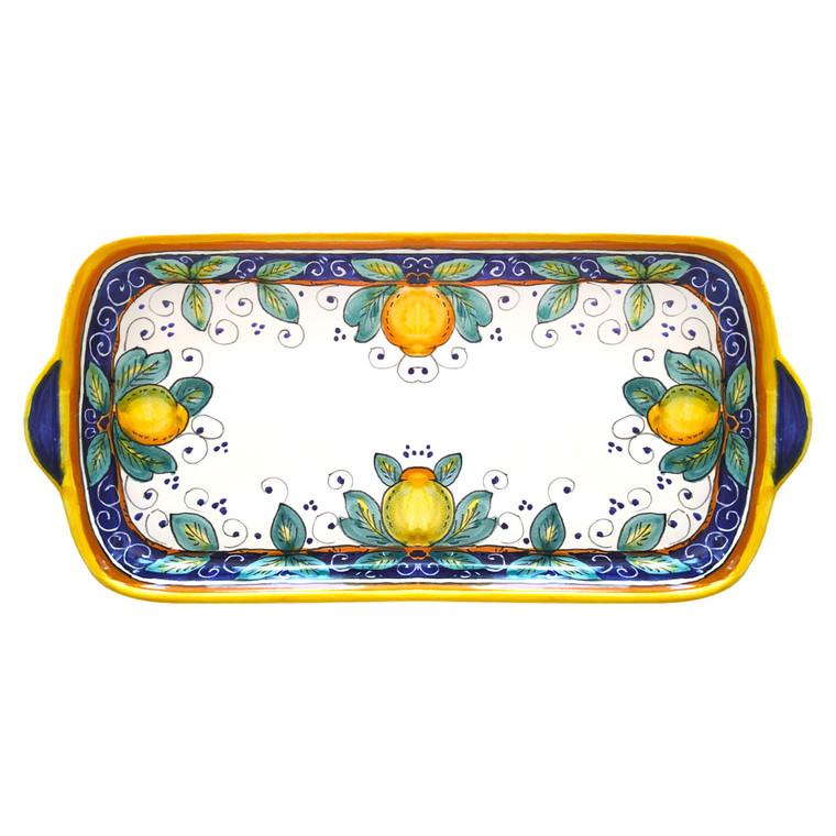 Alcantara Tray 15 Inches