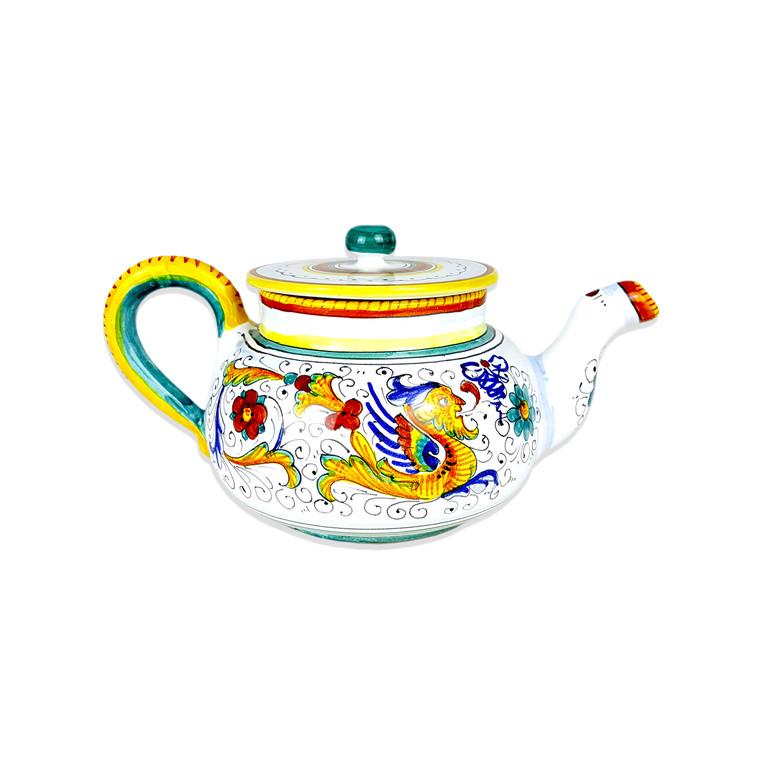 Teapot Raffaellesco deruta ceramics