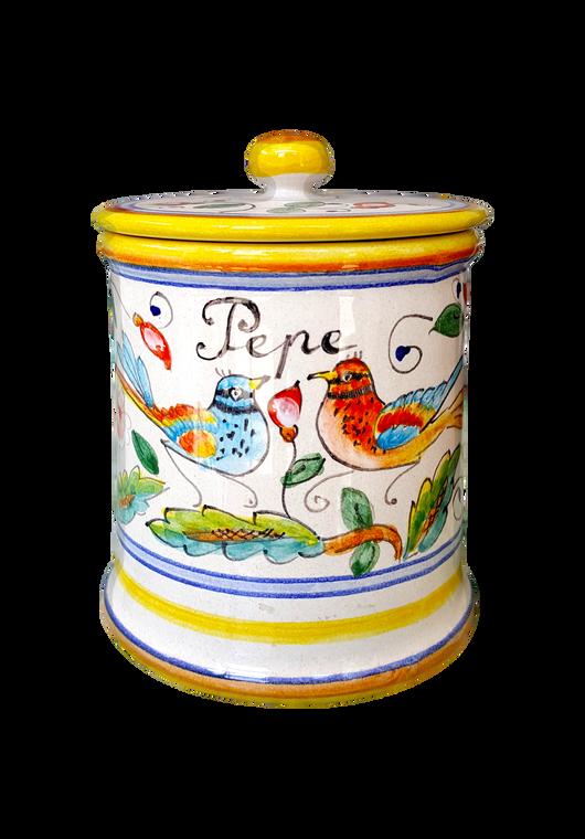 Pepper Jar Love Birds