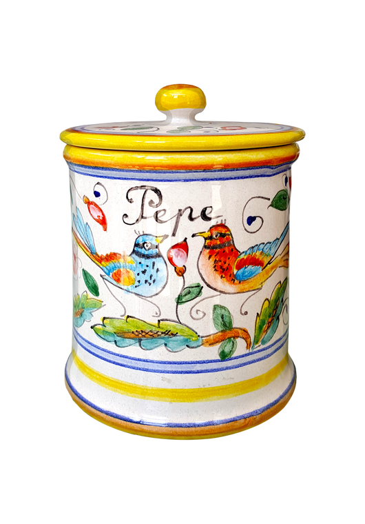 Pepper Jar Love Birds