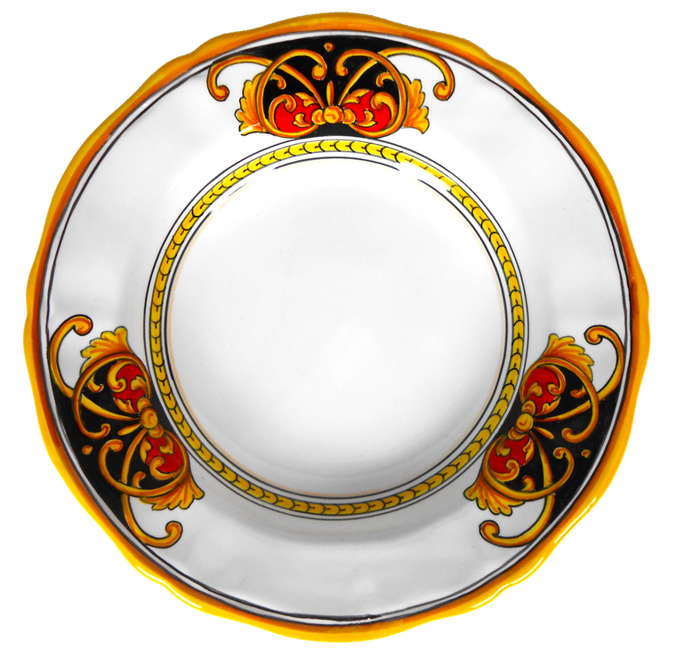 Plate Pasta Soup Rome Collection