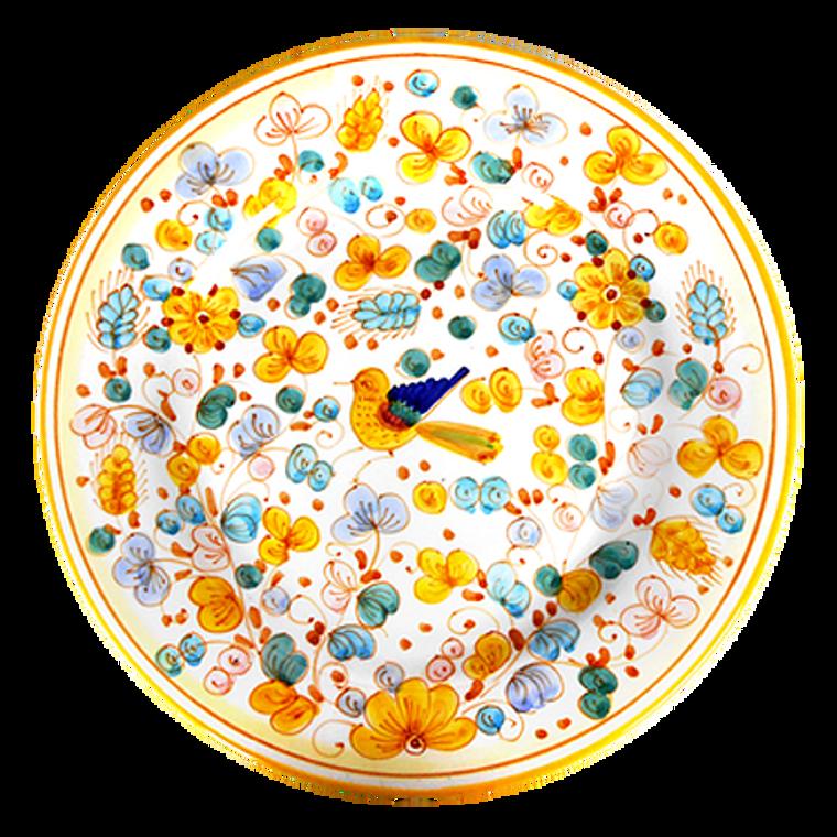 Big mamma ceramic plate hand painted