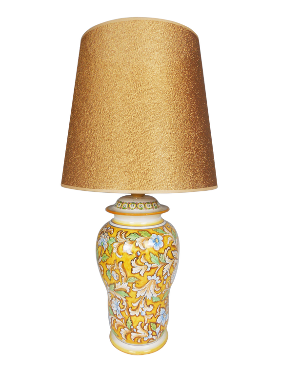 Delia Fondo Giallo Lamp (Lampshade not included)