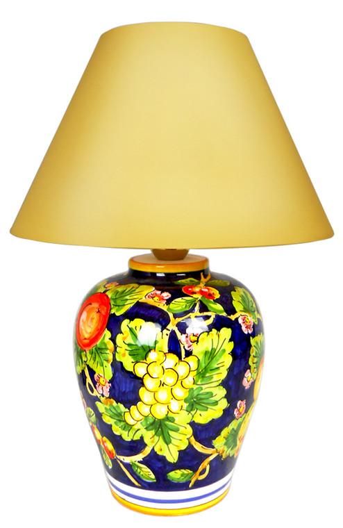 Uva e Melagrane Lamp (Lampshade not included)