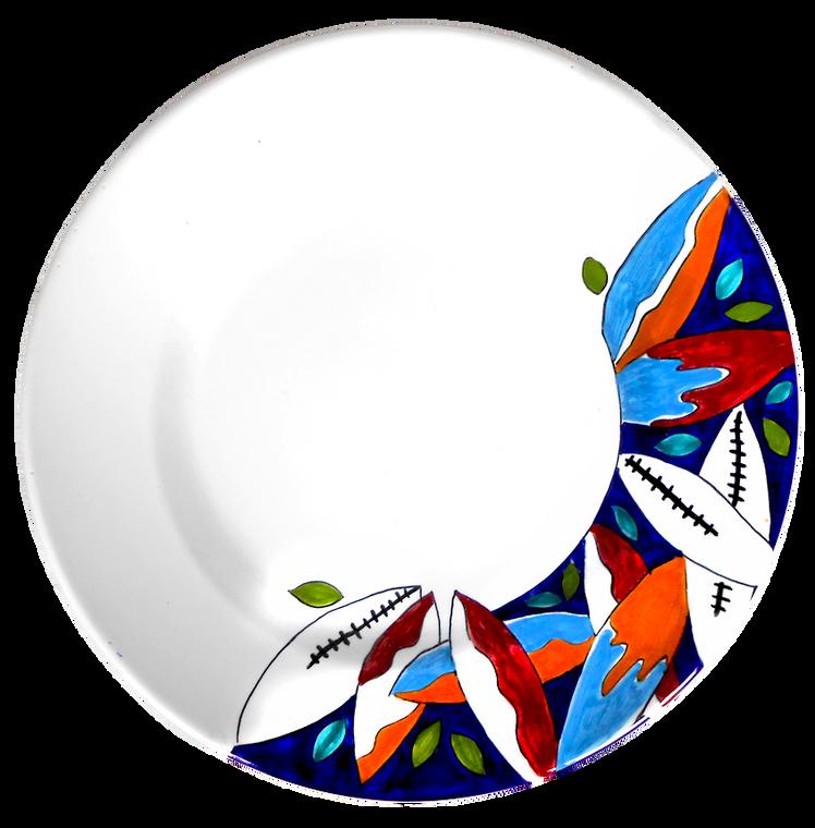 Surfboard Pasta Soup Plate