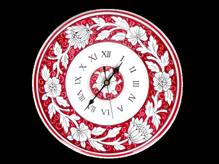 Flower Carminio Clock