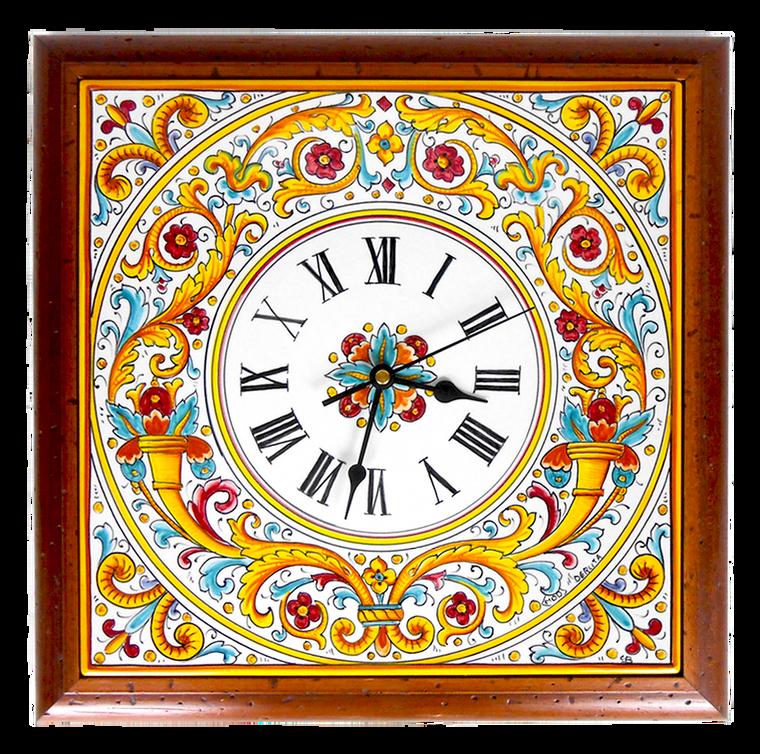 Cornucopia Clock