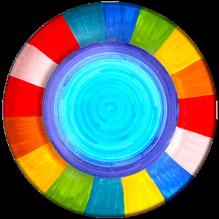 Plate Salad Rainbow