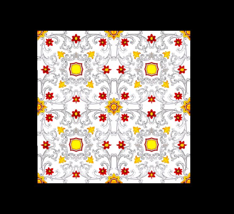 Volute Grigie Tile 7,8 x 7,8 Inches