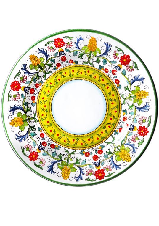 Dinner Plate Flowers Sara Design