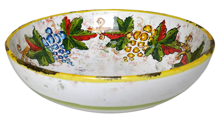 Bowl In 10.0 Italian Ceramics