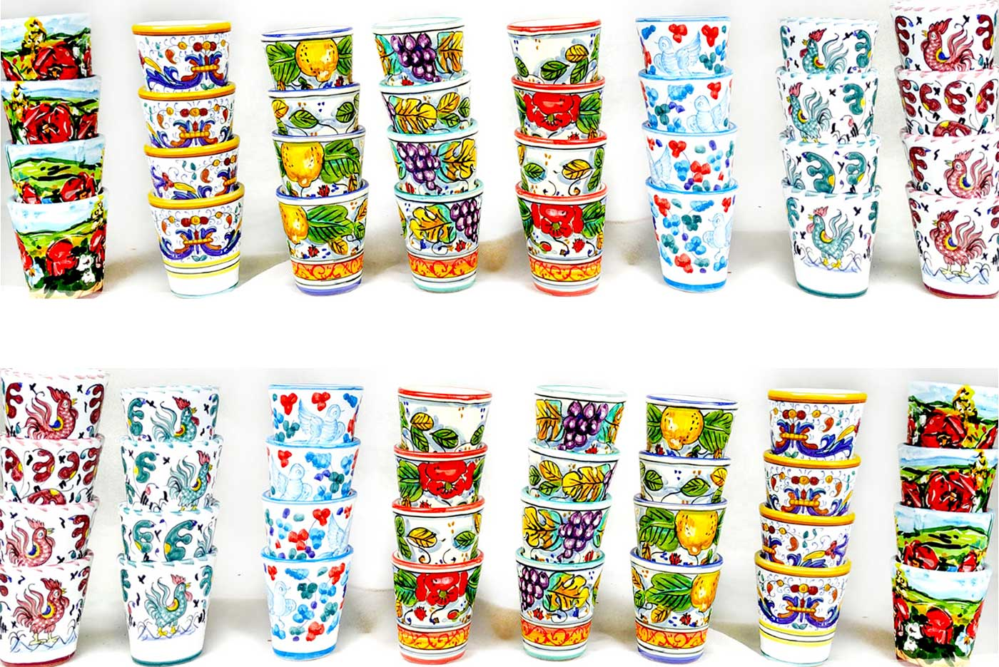Pottery for sale-Limoncello Cup
