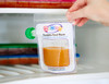 Simply fill, freeze, use, wash & use again over & over! Perfect for fruit purees, yoghurt, smoothies and juices. Freezer, microwave and dishwasher safe. For babies and children aged 6 month+ 200ml capacity, available in 10 pack BPA free.