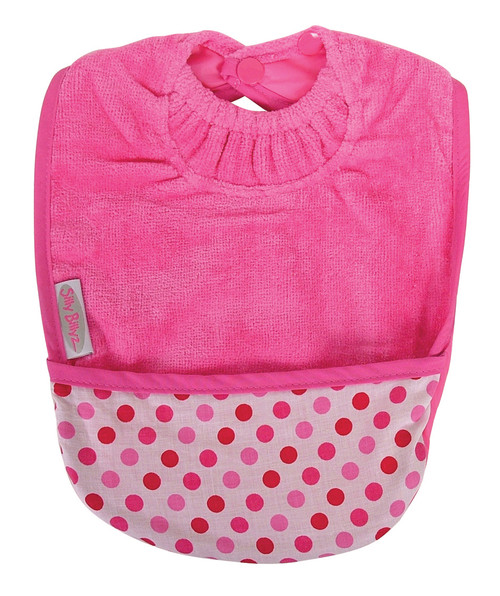 Acts as a food catching pocket or a carry pouch for bite sized snacks, while protecting your baby's skin and clothing.