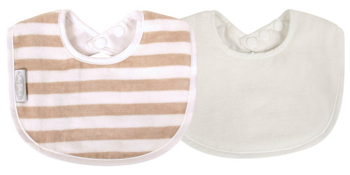 The fabulous Silly Billyz Organic Biblet is a perfect first bib and ideal for babies with skin allergies and has a double press stud closure to fit most sizes. The beautifully soft and luxurious organic cotton is more durable than regular cotton so will last longer. Perfect for bottle or breast feeding and feeding solids. Stain resistant too!  Suggested Age: 0 to 2 years  Dimensions:  19cm x 25cm