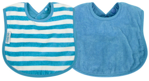 The fabulous Silly Billyz Organic Plain Large Bib is ideal for babies with skin allergies and has a double press stud closure to fit most sizes. The beautifully soft and luxurious organic cotton is more durable than regular cotton so will last longer. Perfect for bottle or breast feeding and feeding solids. Stain resistant too!  Suggested Age: 6mths to 3 years  Dimensions:  24cm x 21cm
