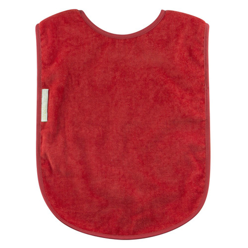 - Easy snap on and adjustable neck - Absorbent velour towelling - Water resistant nylon backing - Machine washable and tumble dry safe