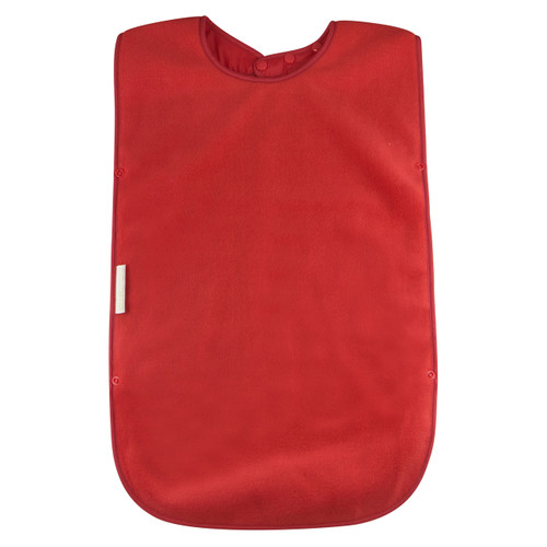 - Easy snap on and adjustable neck - Absorbent anti-pill fleece - Stain and water resistant nylon backing - Machine washable and tumble dry safe